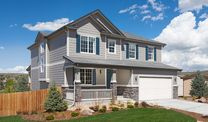 Cliffrose at Homestead at Crystal Valley by Richmond American Homes in Denver Colorado