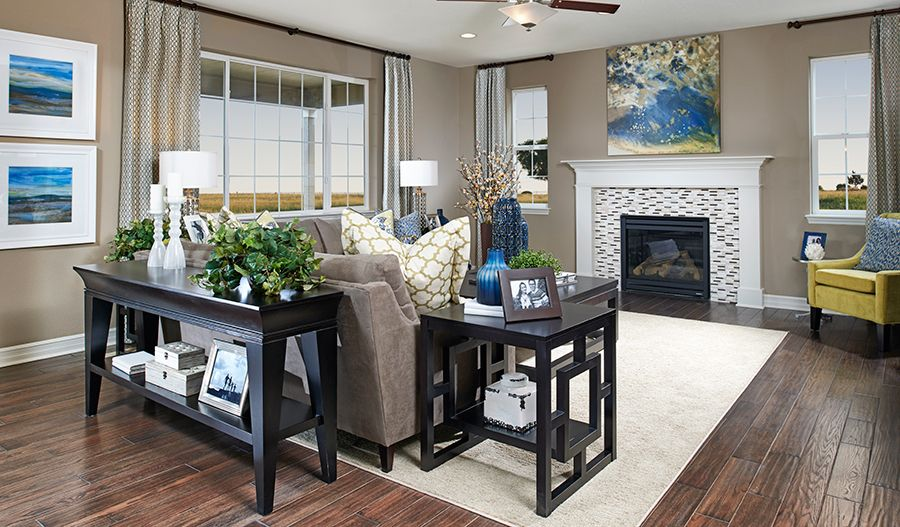 Living Area featured in the Seth By Richmond American Homes in Denver, CO