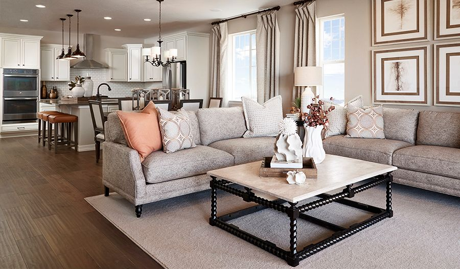 Living Area featured in the Farmington By Richmond American Homes in Denver, CO