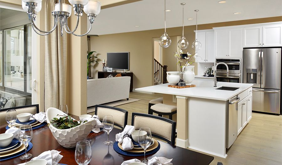Kitchen featured in the Holston By Richmond American Homes in Denver, CO