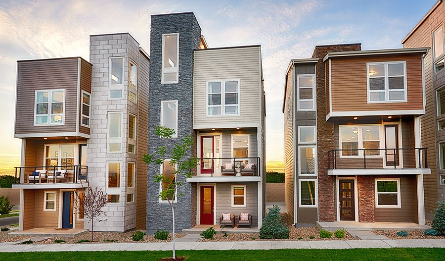 'Cityscapes at The Meadows' by Richmond American Homes - Southern Colorado in Denver