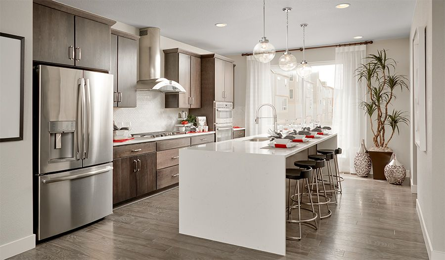 Kitchen featured in the Soho By Richmond American Homes in Denver, CO