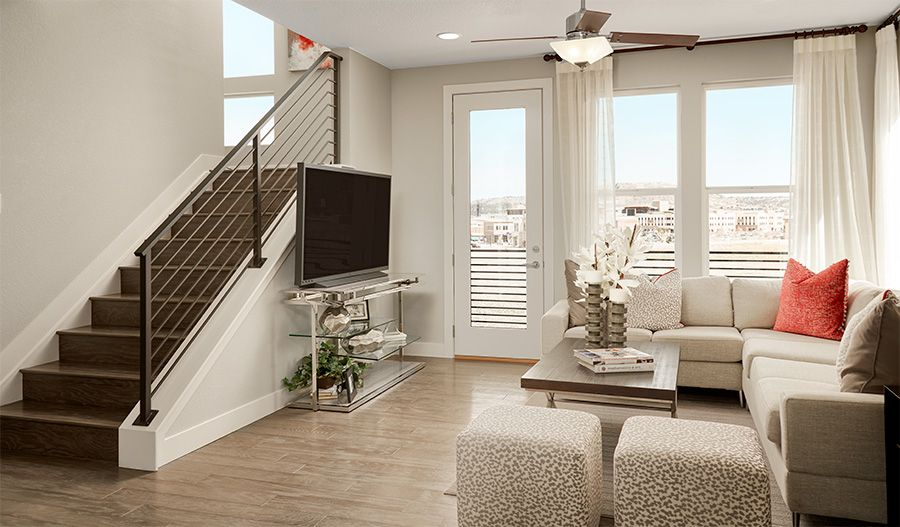 Living Area featured in the Soho By Richmond American Homes in Denver, CO