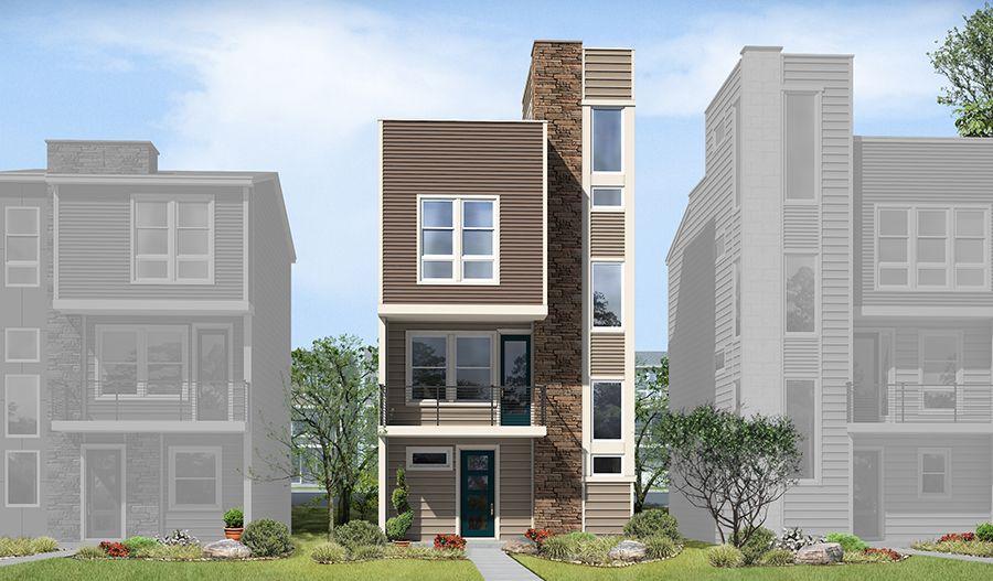Exterior featured in the Soho By Richmond American Homes in Denver, CO