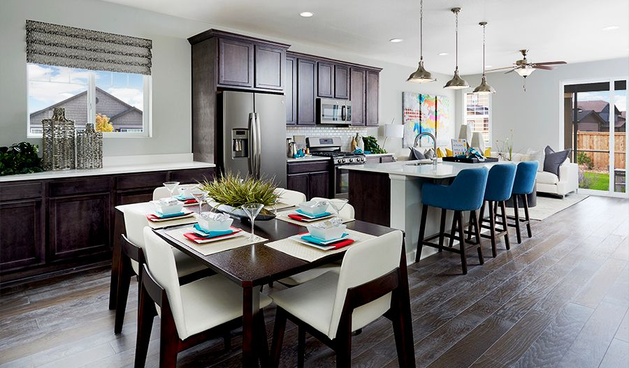 Kitchen featured in the Clarion By Richmond American Homes in Denver, CO