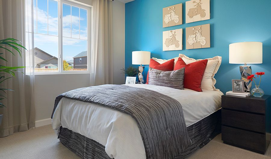 Bedroom featured in the Onyx By Richmond American Homes in Denver, CO