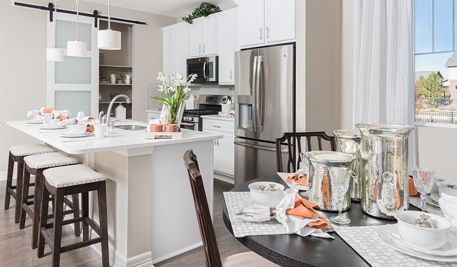 Kitchen featured in the Coral By Richmond American Homes in Pueblo, CO
