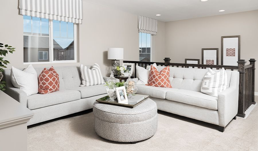 Living Area featured in the Coral By Richmond American Homes in Colorado Springs, CO