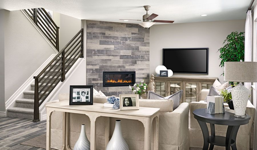 Living Area featured in the Hemingway By Richmond American Homes in Pueblo, CO