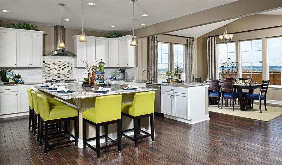 Kitchen featured in the Seth By Richmond American Homes in Denver, CO