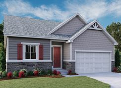 Avril - Cliffrose at Homestead at Crystal Valley: Castle Rock, Colorado - Richmond American Homes