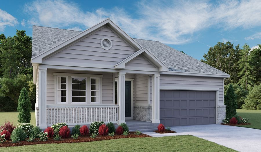 Exterior featured in the Avril By Richmond American Homes in Denver, CO