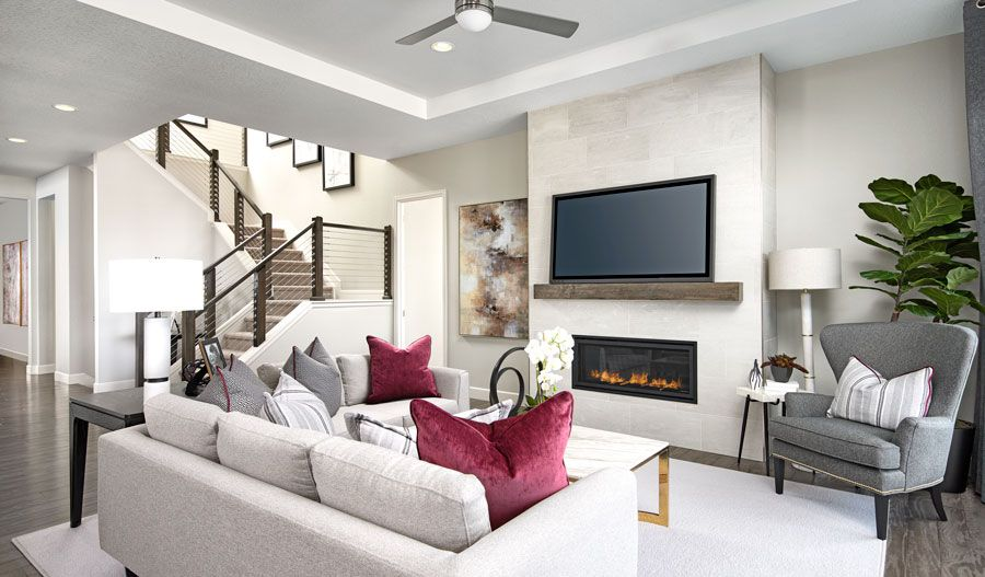 Living Area featured in the Avril By Richmond American Homes in Denver, CO