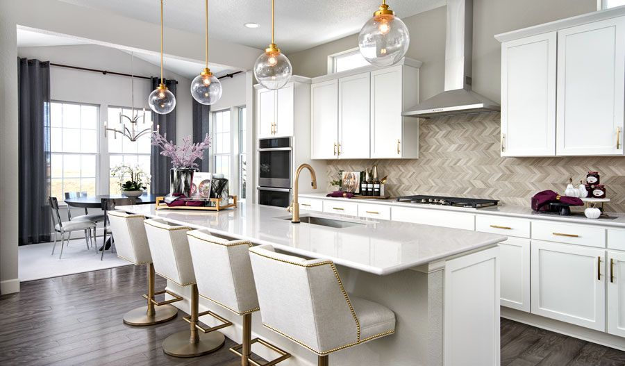 Kitchen featured in the Avril By Richmond American Homes in Denver, CO