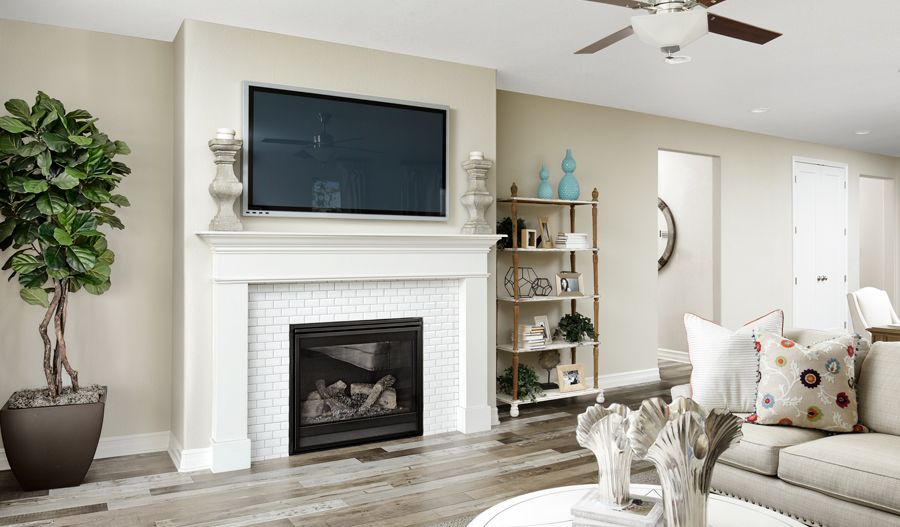 Living Area featured in the Arlington By Richmond American Homes in Denver, CO