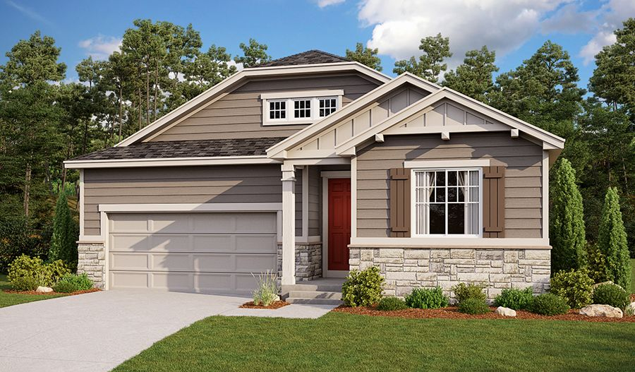 Exterior featured in the Arlington By Richmond American Homes in Denver, CO