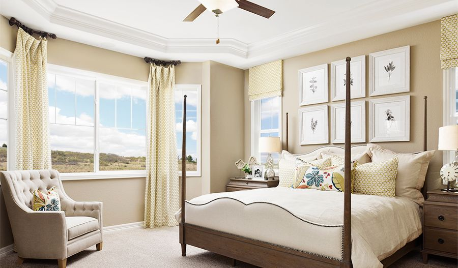 Bedroom featured in the Daniel By Richmond American Homes in Denver, CO