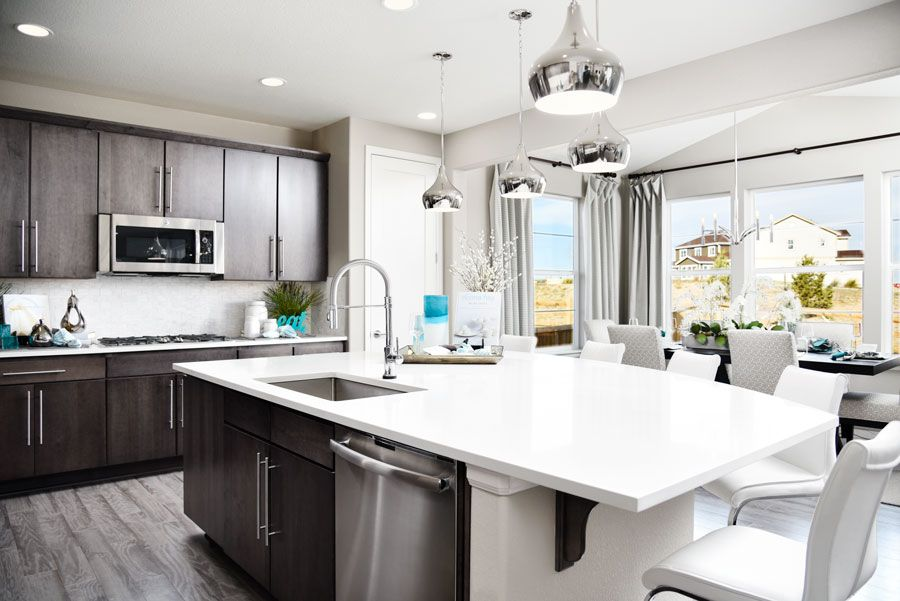 Kitchen featured in the Fallon By Richmond American Homes in Denver, CO