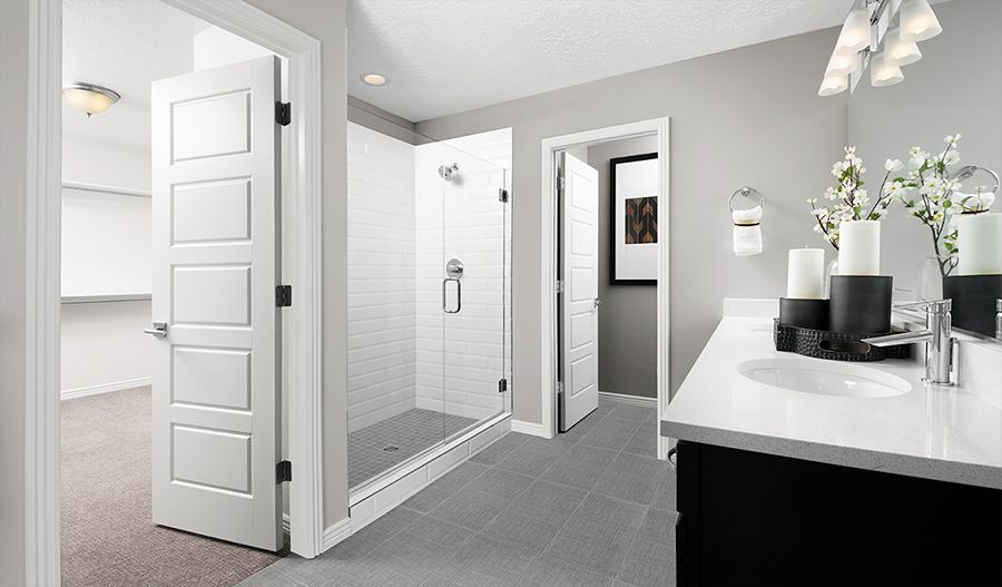Bathroom featured in the Moonstone By Richmond American Homes in Denver, CO