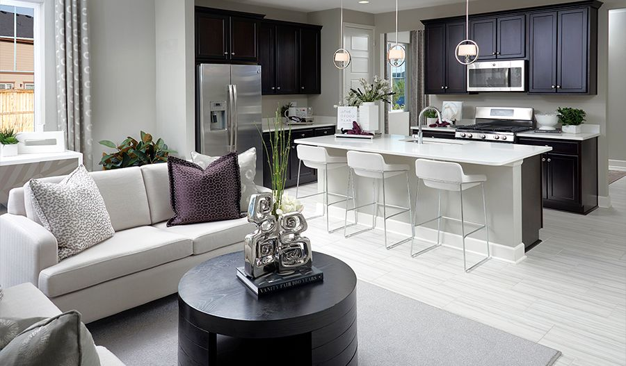Living Area featured in the Amethyst By Richmond American Homes in Colorado Springs, CO