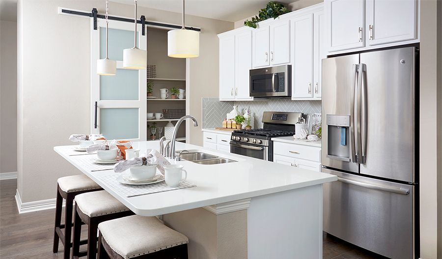 Kitchen featured in the Coral By Richmond American Homes in Colorado Springs, CO