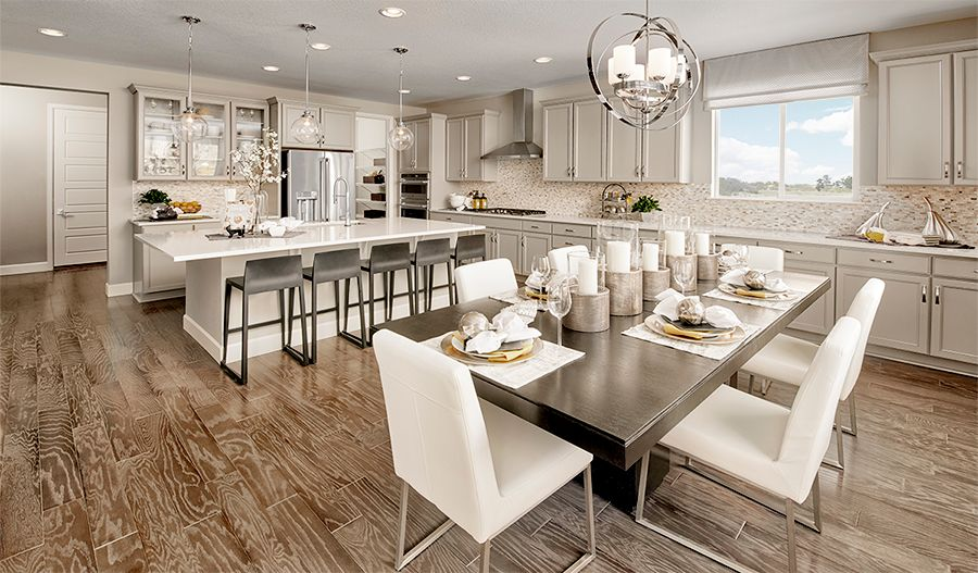 Kitchen featured in the Melody By Richmond American Homes in Denver, CO