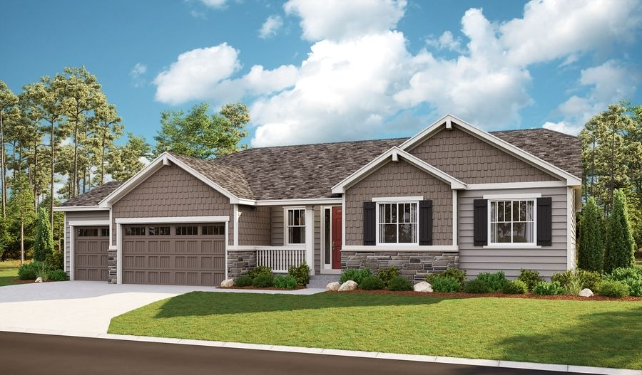 Exterior featured in the Melody By Richmond American Homes in Denver, CO