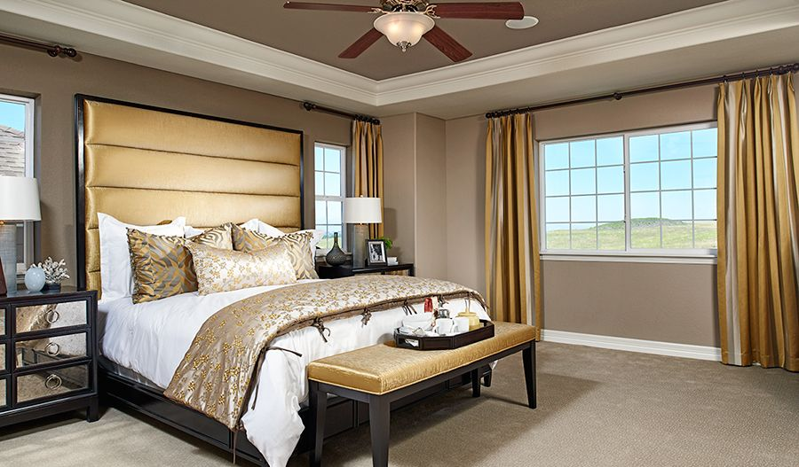 Bedroom featured in the Hemingway By Richmond American Homes in Denver, CO