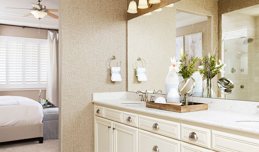 Bathroom featured in the Arlington By Richmond American Homes in Ventura, CA