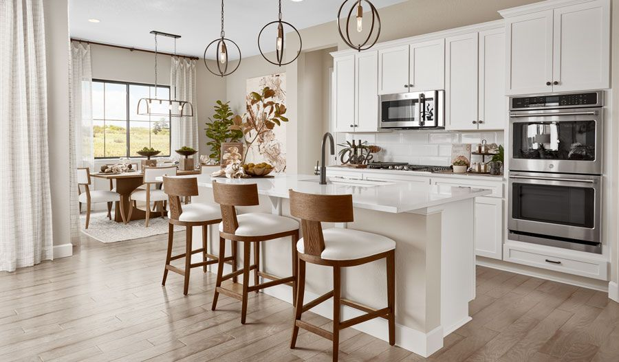 Kitchen featured in the Nottingham By Richmond American Homes in Denver, CO