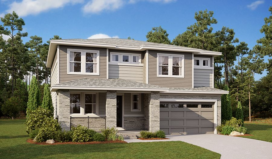 Exterior featured in the Vernon By Richmond American Homes in Denver, CO