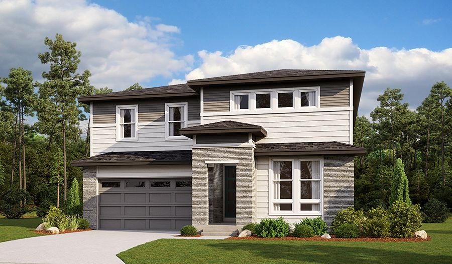 Exterior featured in the Holston By Richmond American Homes in Denver, CO