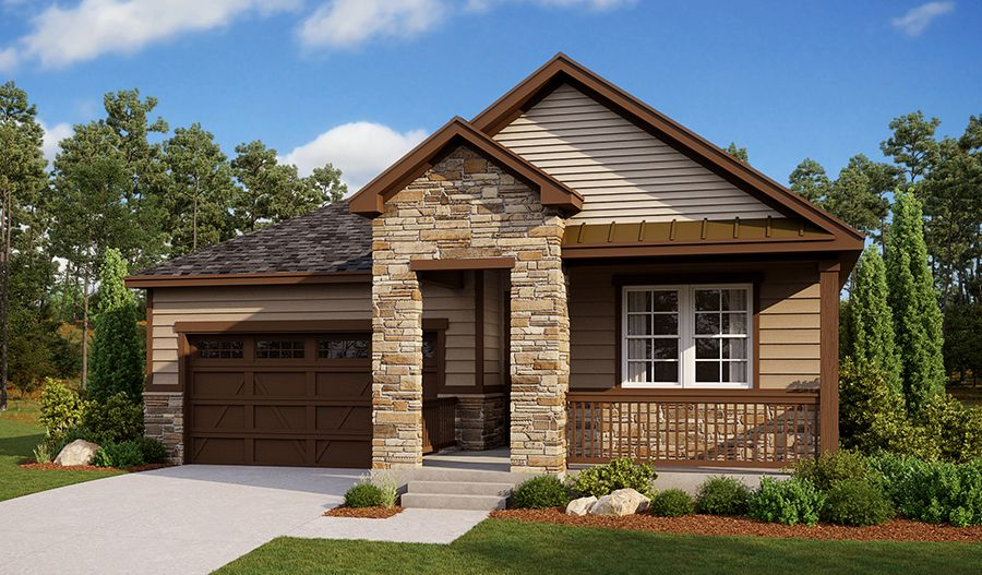 Exterior featured in the Farmington By Richmond American Homes in Denver, CO