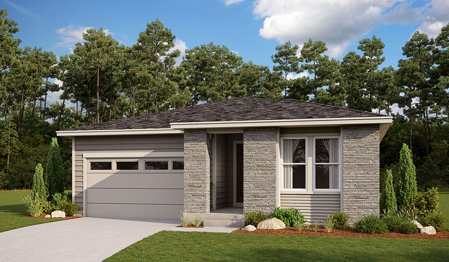 Exterior featured in the Clarion By Richmond American Homes in Denver, CO