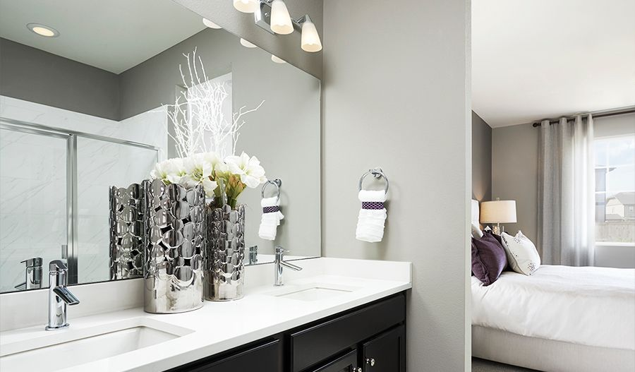 Bathroom featured in the Amethyst By Richmond American Homes in Colorado Springs, CO