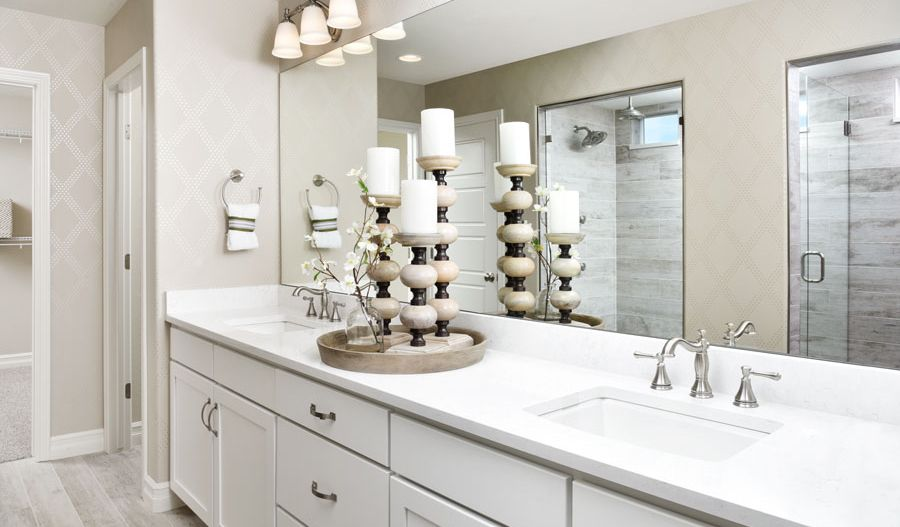 Bathroom featured in the Coronado By Richmond American Homes in Colorado Springs, CO