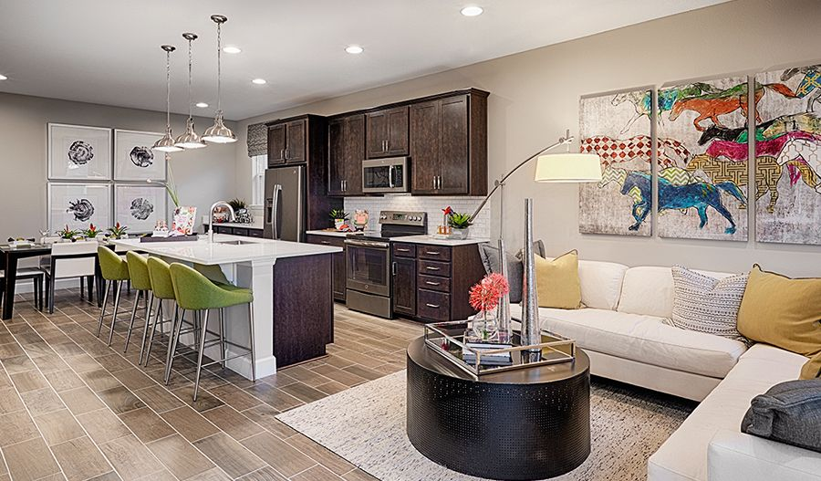 Living Area featured in the Clarion By Richmond American Homes in Denver, CO