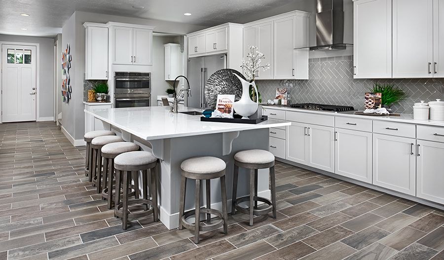 Kitchen featured in the Bedford By Richmond American Homes in Colorado Springs, CO