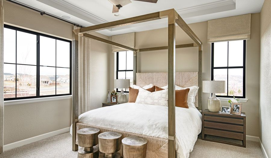 Bedroom featured in the Darius By Richmond American Homes in Denver, CO
