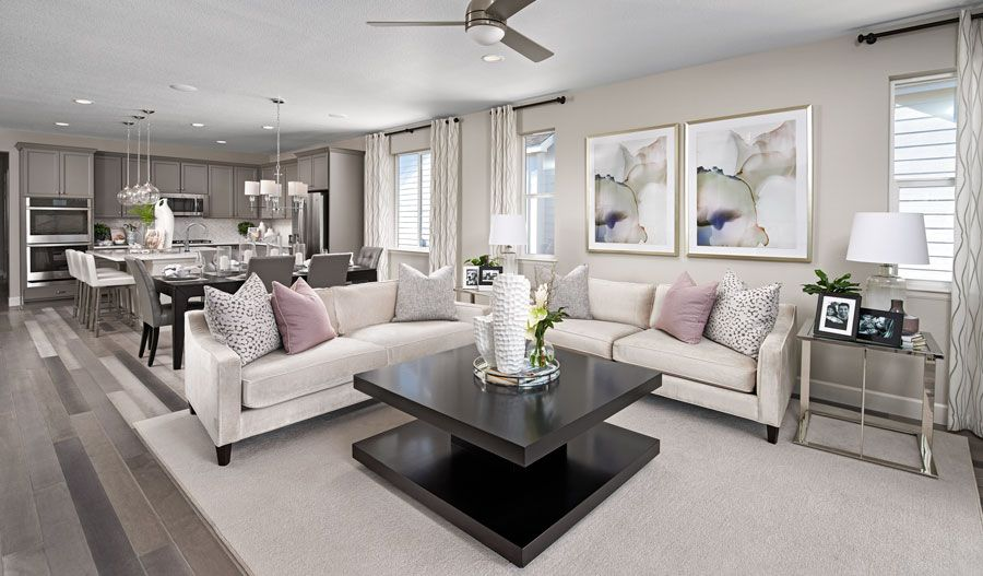 Living Area featured in the Arlington By Richmond American Homes in Ventura, CA
