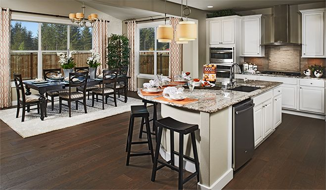 Kitchen featured in the Twain By Richmond American Homes in Colorado Springs, CO