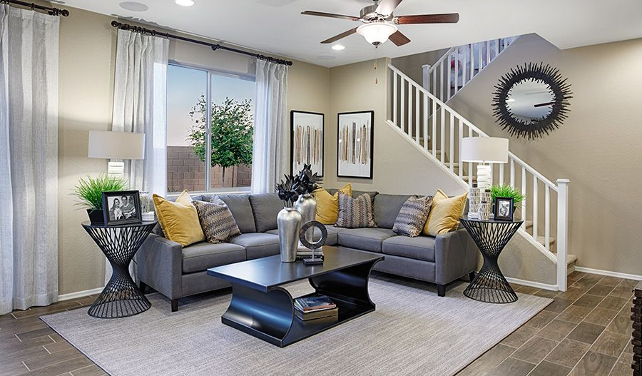 Living Area featured in the Citrine By Richmond American Homes in Colorado Springs, CO