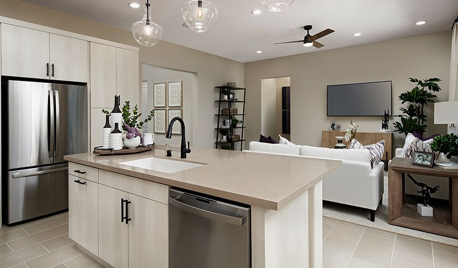 Kitchen featured in the Ackerman By Richmond American Homes in Ventura, CA