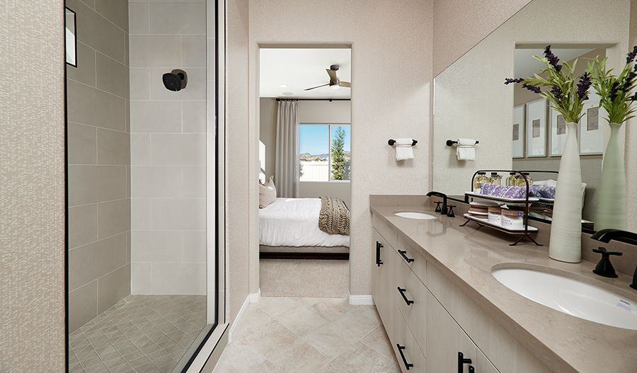 Bathroom featured in the Ackerman By Richmond American Homes in Ventura, CA