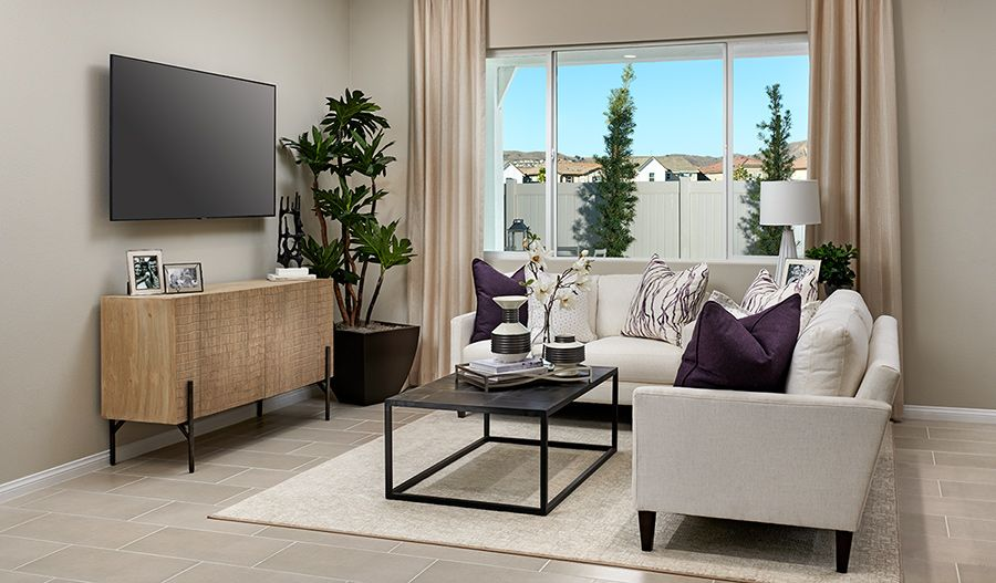 Living Area featured in the Ackerman By Richmond American Homes in Ventura, CA