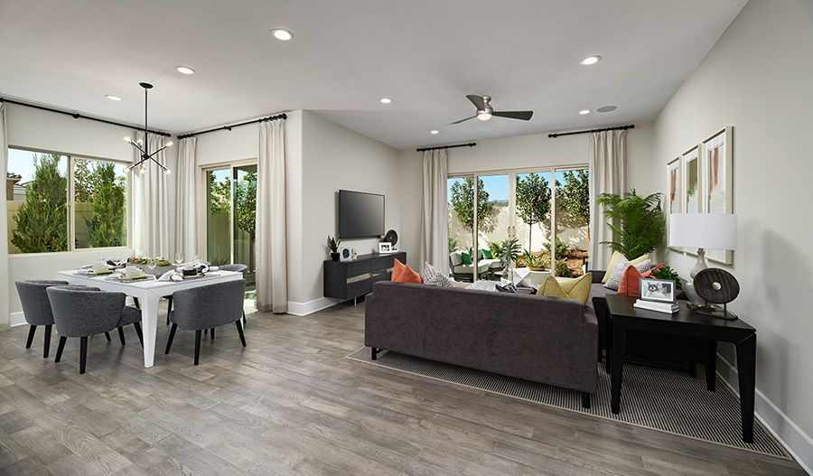 Living Area featured in the Avalon By Richmond American Homes in Ventura, CA