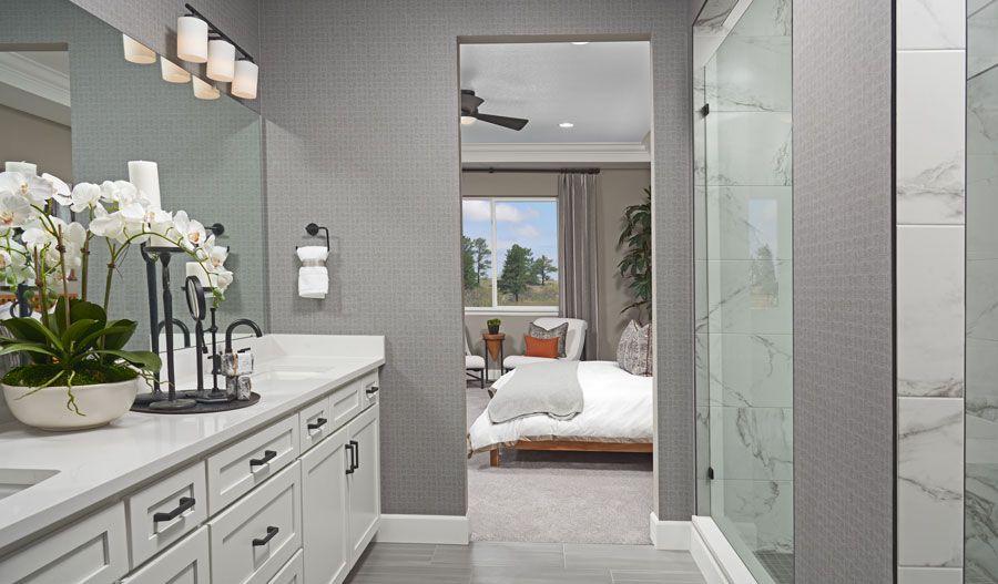 Bathroom featured in the Arlington By Richmond American Homes in Colorado Springs, CO