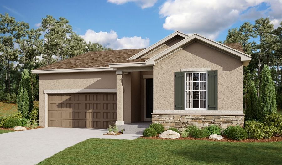 Exterior featured in the Amethyst By Richmond American Homes in Pueblo, CO