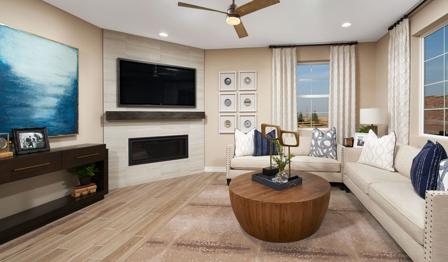 Living Area featured in the Lapis By Richmond American Homes in Colorado Springs, CO