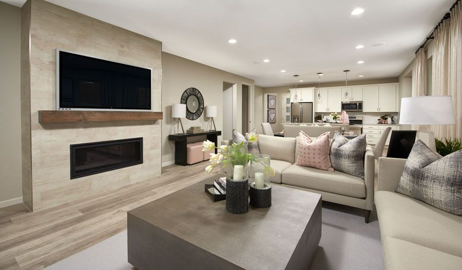 Living Area featured in the Alexandrite By Richmond American Homes in Colorado Springs, CO